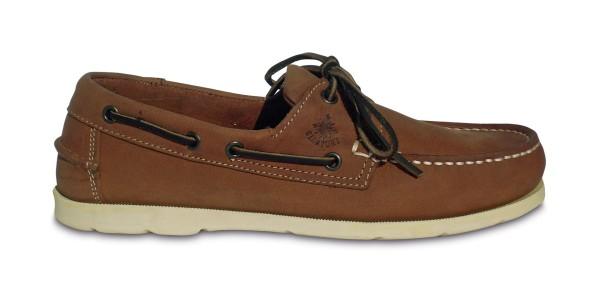 Schuh Vermont Nubuck Tabak / w. Sohle