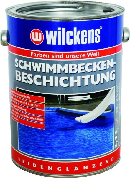 WILCKENS Schwimmbecken-Beschichtung poolblau 2500 ml