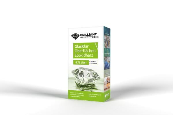 BrilliantShine GlasKlar Oberflächen Epoxidharz