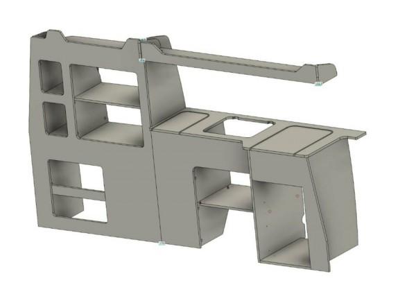 T5 und T6 Küchenmöbel Selbstbauelement
