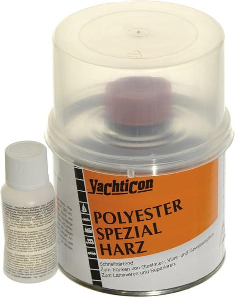 Polyester Spezial Harz mit Härter - styrolreduziert -
