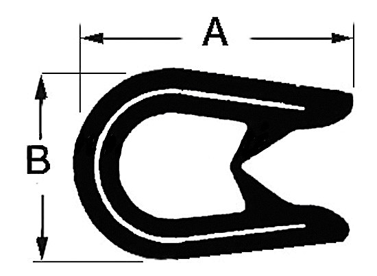 Kombinations-Abdichtprofile aus PVC