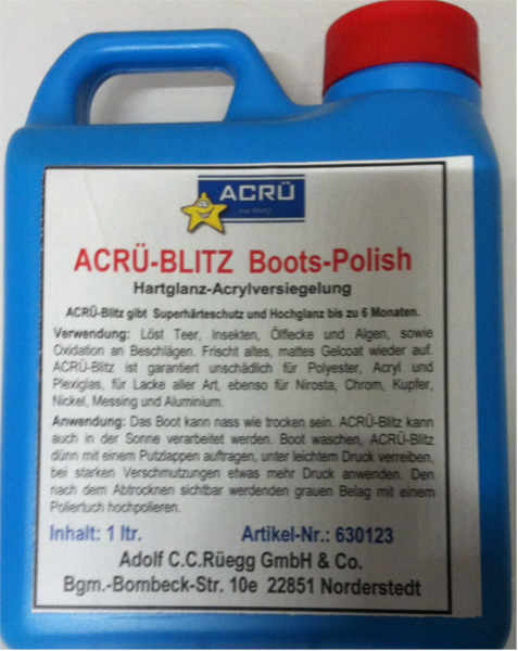 ACRÜ BLITZ Politur