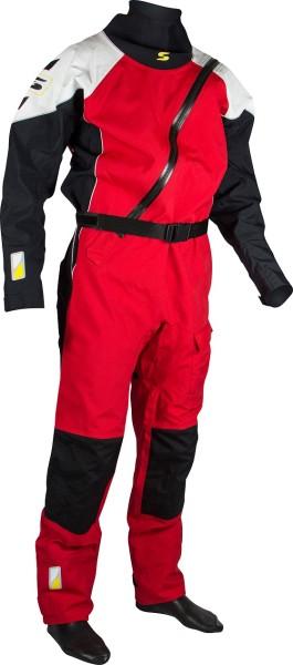 Trockenanzug PRO II rot/weiss/schwarz