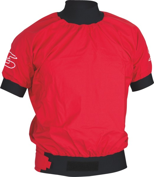 Jacket Race 3L Short Sleeve red