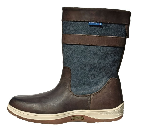 QUAYSIDE Coastal Half Boots - mocca/navy