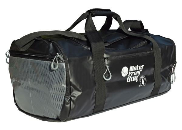 Reisetasche PVC schwarz, 50 l