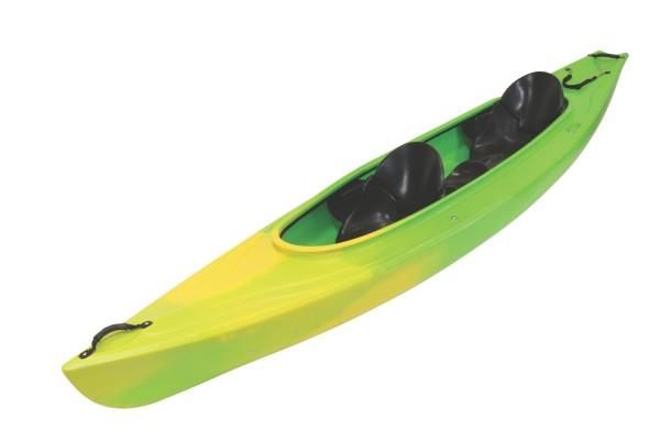 Kajak GK28, 2er grün/gelb