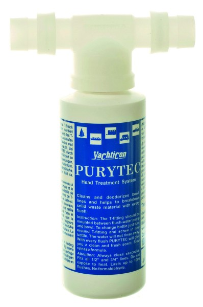 Purytec Set T-Stück + 100 ml Flasche