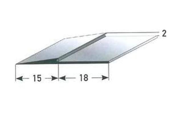 Antrittskanten-Schiene Decksbelag / Schiene