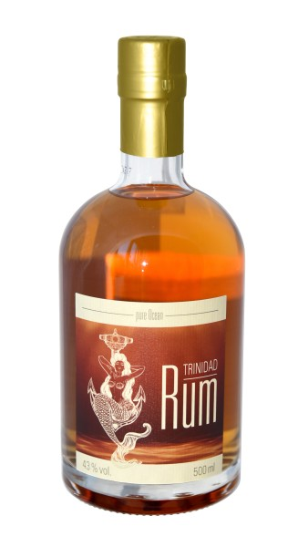 Pure Ocean Trinidad Rum 43% vol. 500 ml
