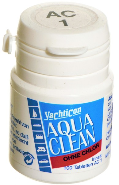 Aqua Clean AC 1 -ohne Chlor- 100 Tabletten