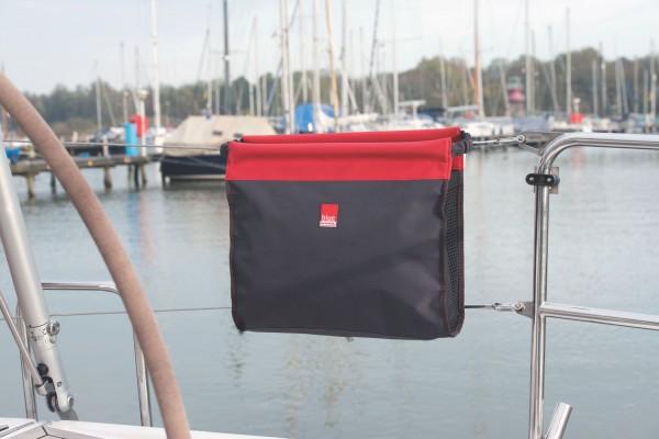 Relingstasche rot/schwarz
