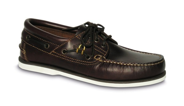 Schuh Comfort dunkelbraun / w. Sohle