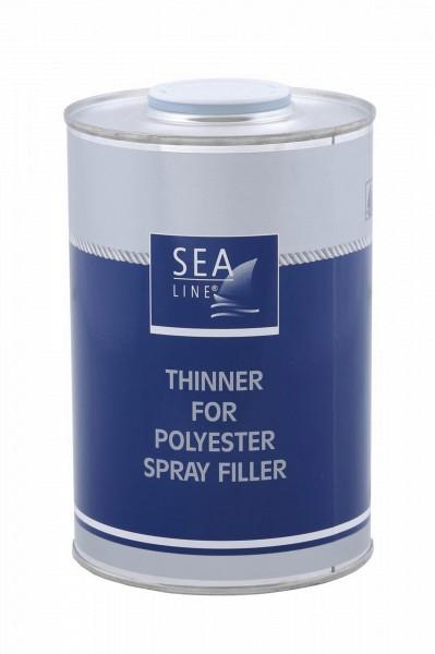 SEA-LINE VERDÜNNER FÜR POLYESTERSPRITZFÜLLER 1 Liter