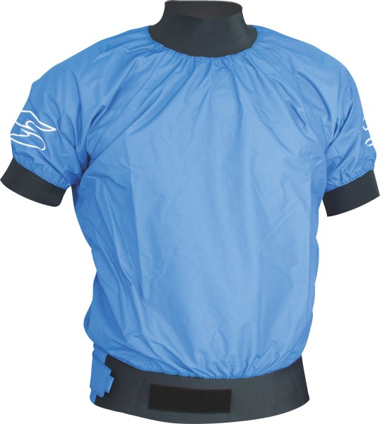 Jacket Race 3L Short Sleeve blue