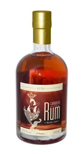 Pure Ocean Burkes Dark Rum 3 Years 37,5% vol. 500 ml