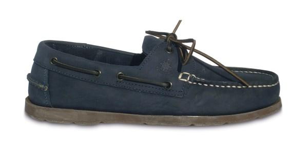 Schuh Vermont Nubuck navy / br. Sohle