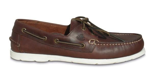 Schuh Vermont dunkelbraun / w. Sohle