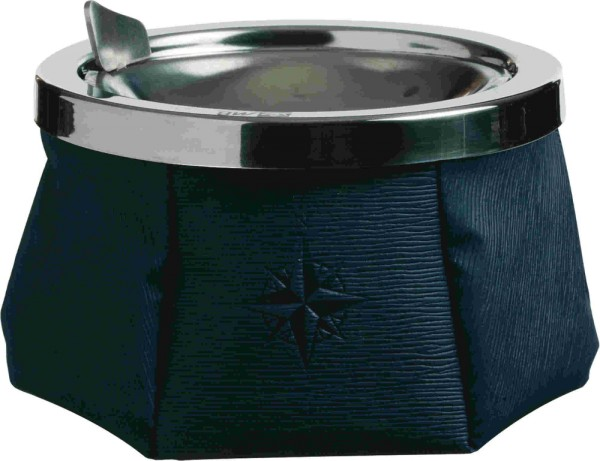 Windproof Aschenbecher Marineblau