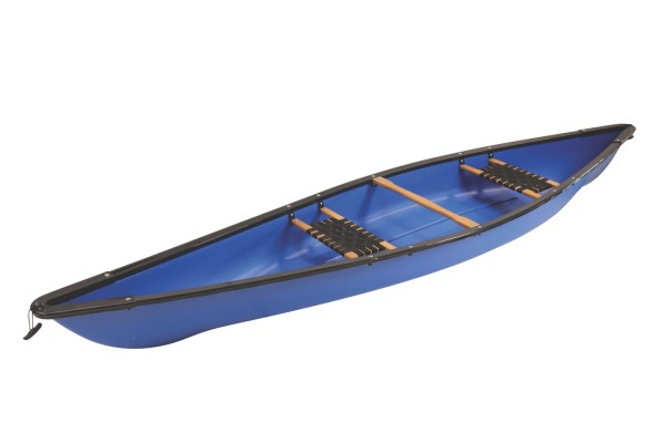 Kanu CK-02A, 2er mit Holzsitzen 395 cm blau