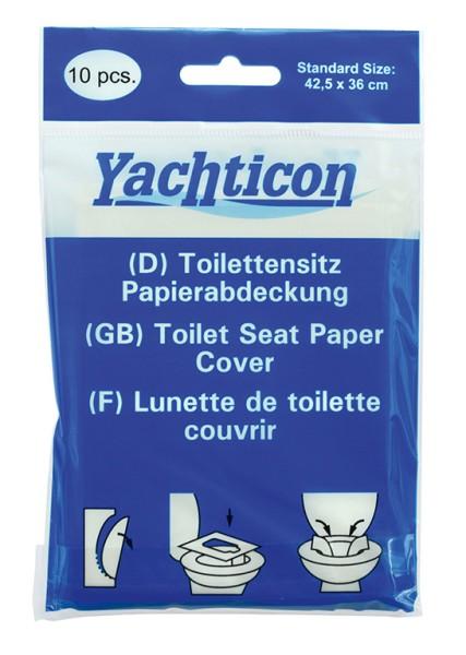 Toilettensitz Papierabdeckung