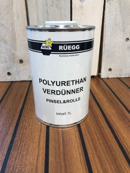 ACRÜ Polyurethan Verdünner Pinsel + Rolle