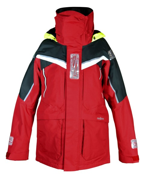 STAVANGER Jacket - red/carbon