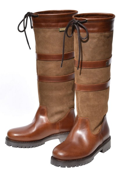 QUAYSIDE Banbury Boots - oak/bison
