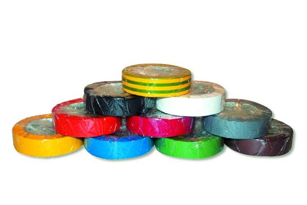 PVC Isolierband Rainbowpack 10 Rollen á 10 m x 25 mm
