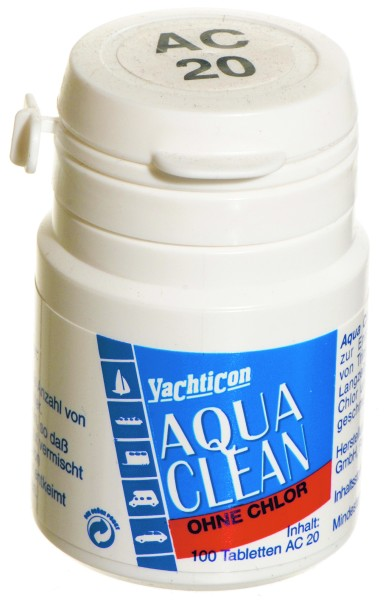 Aqua Clean AC 20 -ohne Chlor- 100 Tabletten