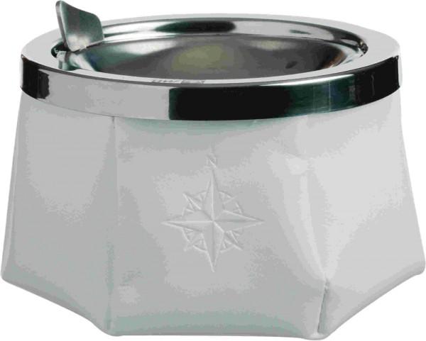 Windproof Aschenbecher Weiß