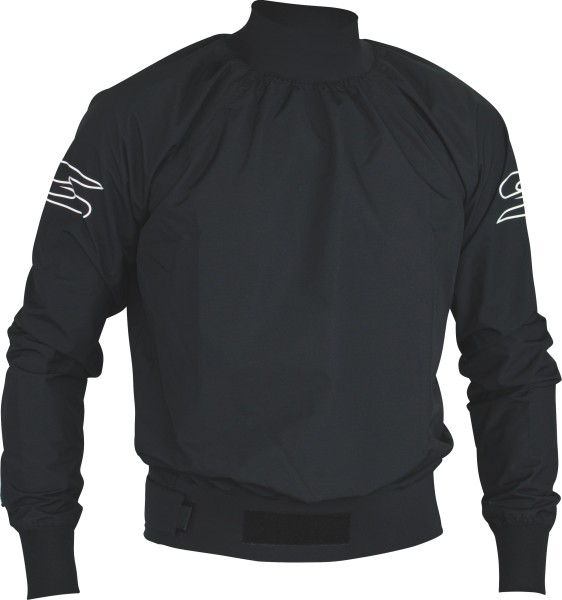 Jacket Race 3L long sleeve, black